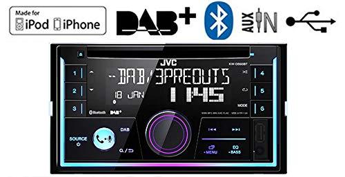 mains libres Bluetooth Jaguar X-Type radio DAB JVC Autoradio st/ér/éo lecteur CD USB AUX