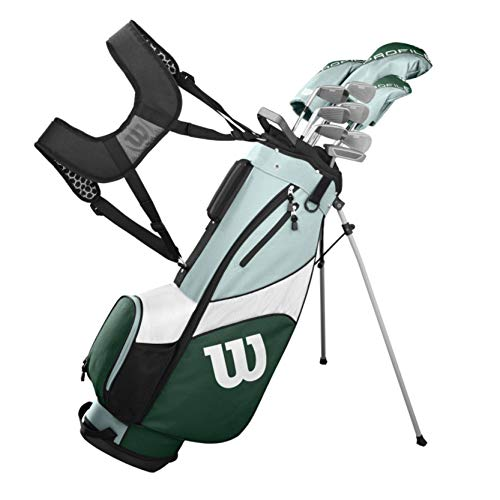 Wilson Golf Profile SGI Women's Complete Golf Set - Regular - Carry, Right Hand (Best Golf Wedges For Beginners)