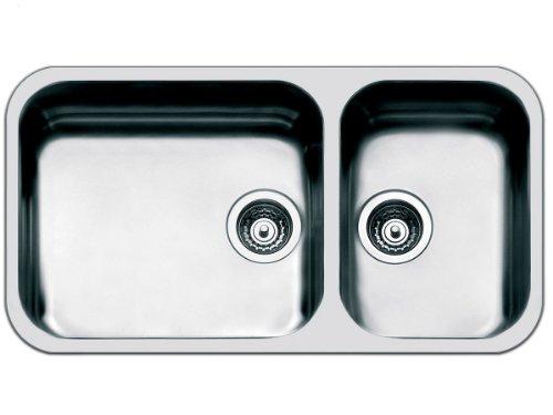 Mezza Vasca Da Bagno Dimensioni : Smeg doppia vasca sottotop um dimensioni cm colore