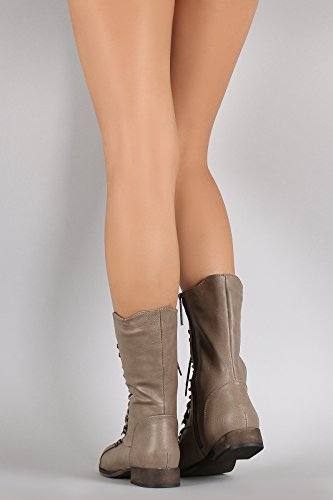 Fourever Funky, Damen Stiefel & Stiefeletten , Beige - Beige (A-Beige) - Größe: 42 EU (M)