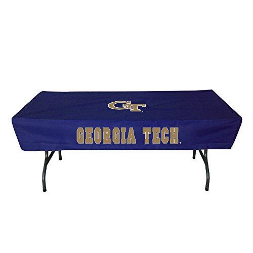 (Rivalry Distributing RIV-RV204-4600 Georgia Tech Yellowjackets NCAA Ultimate 6 Foot Table Cover)