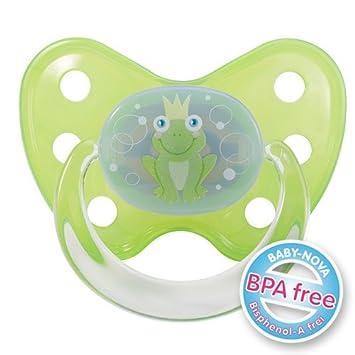 Baby Nova silicona Chupete denti Star Talla 1 hasta 1 ...