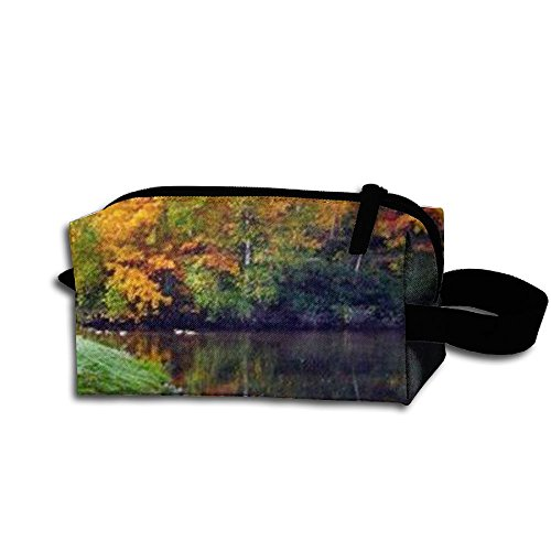 Autumn Landscape Storage Cosmetic Bag Portable Travel Makeup Bag Packing Pouches