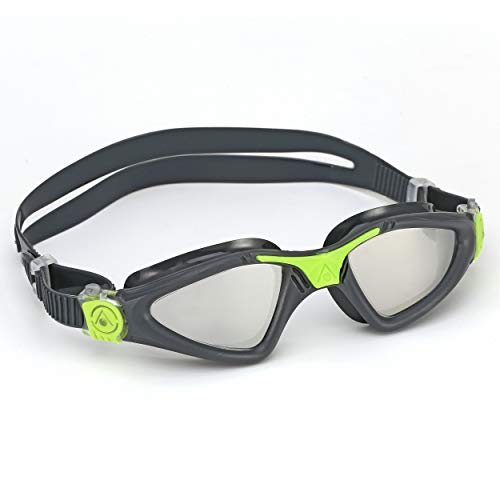 Aqua Sphere Kayenne Swim Goggles with Mirrored Lens ()