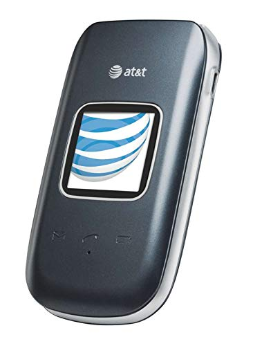 Pantech Breeze 3 Basic Flip Phone (AT&T) (Renewed)