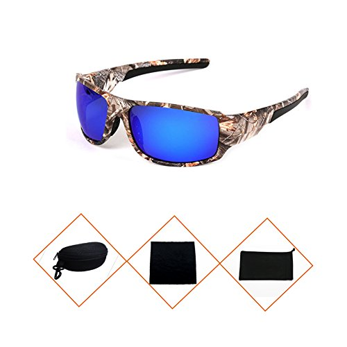 Sports Sunglasses Polarized Mens Camouflage Eyewear Driving Glasses Shades