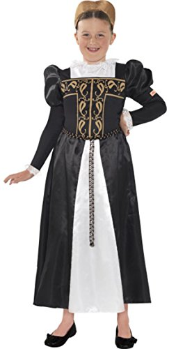 [Horrible Histories, Mary Queen Of Scots Costume Medium] (Mary Queen Of Scots Fancy Dress Costume)
