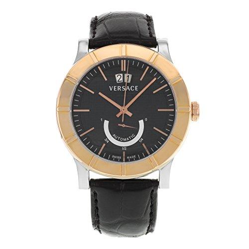 Versace-Mens-18A99OD009-S009-Acron-Big-Date-Automatic-Power-Reserve-18K-Gold-Bezel-Watch