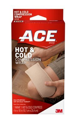 ACE(TM) Knitted Cold/Hot Compress Wrap 207519, Reusable by ACE
