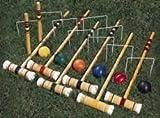 """: """"Gym And Outdoor Games Outdoor Games Activities Croquet - 24"""""""" Tournament Croquet Set - Set Of 6"""""""