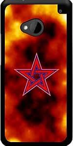 Funda para Htc One M7 - Pentagrama