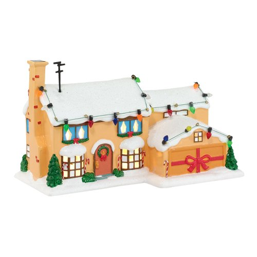 (Department 56 The Simpson's Village Simpsons House Lit Building, 5.31 inch)