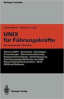 Book UNIX für Führungskräfte: Ein umfassender Überblick (Springer Compass)