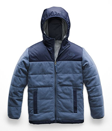 (The North Face Kids Boy's Reversible True or False Jacket (Little Kids/Big Kids) Shady Blue X-Large)