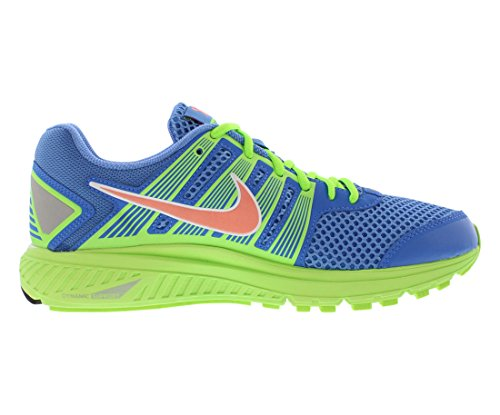 Nike Womens Zoomstructuur 536974-463 Snealers (10 M Us 42 Eur, Blue Atomic Pink Flash Lime White)