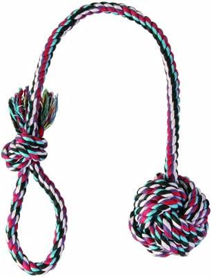 Trixie Cuerda de Juego con Bola, ø7 cm, 50 cm: Amazon.es ...