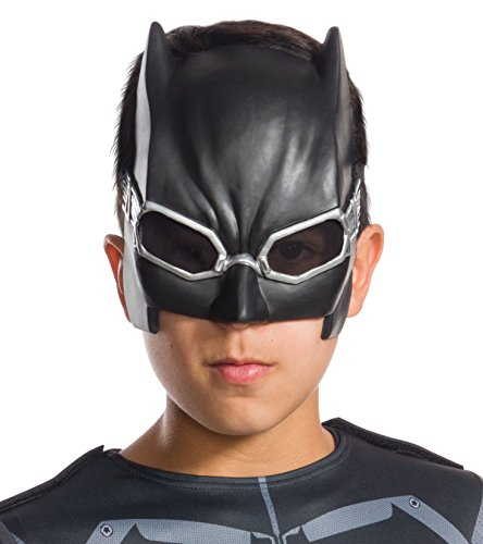 The Flash Classic Child Costumes (Rubie's Costume Boys Justice League Tactical Batman Half-Mask Costume, One Size)