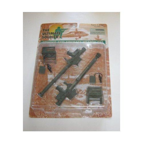 21st Century Toys Aircraft (The Ultimate Soldier : Stinger Anti-Aircraft Weapon Set)
