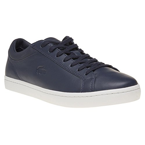Set Straight Baskets Lacoste Mode Bleu Bleu Homme OHAq1n7