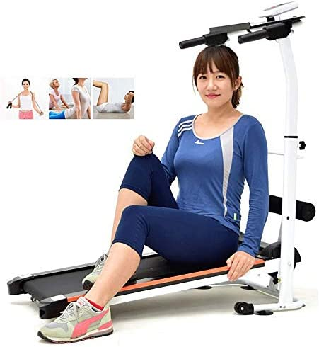 Wzdszuil Treadmill,Folding Treadmills for Home with Incline, Mechanical Foldable Walking Machine Home Fitness Equipment Sports Equipment Aerobic Equipment 2