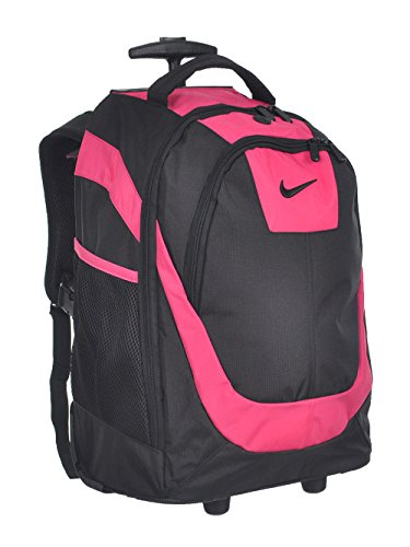 Nike Swoosh Rolling Backpack - Purple - College Nike Bags