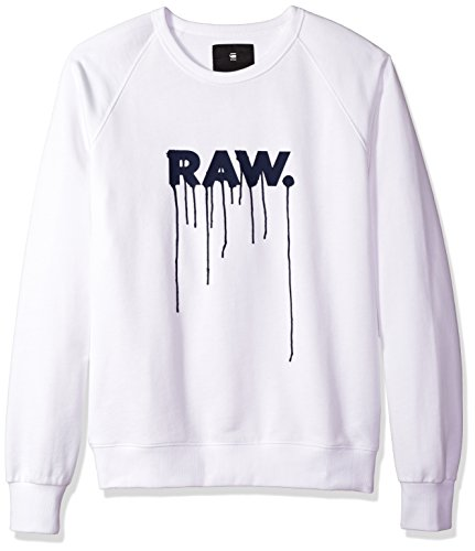 G-Star Raw Men's Daefon Raglan Roundneck Sweater Long for sale  Delivered anywhere in USA