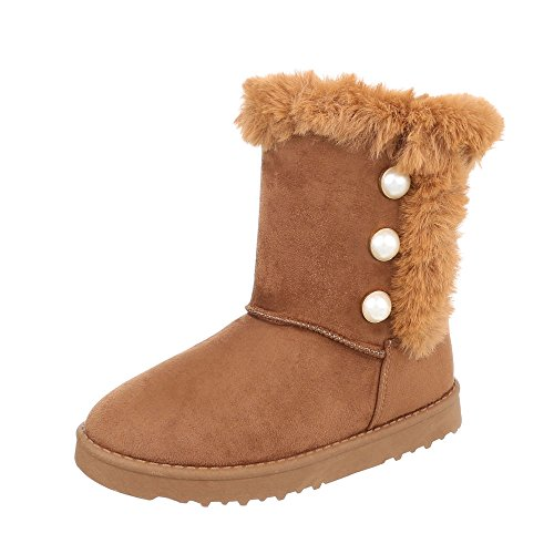 Classic Design at Boots Women's Flat Ankle Ital Boots Camel q0BqUxX