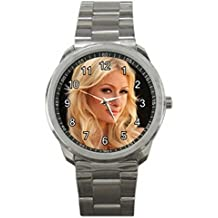 HSS023Paris Hilton Sexy Hot Actress #A Sport Metal Watch