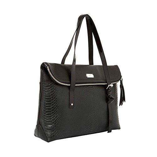 Amazon.com   VÉLEZ 20169 Women Leather Business Briefcase   Maletín De Cuero Mujer Black   Briefcases