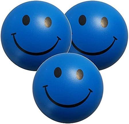 StressCHECK Pelota Anti Estrés - 3 x Bola Anti-Estrés Color Azul ...