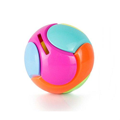 (SNNplapla 1 X Piggy Bank Puzzle Ball Spherical Coin Bank Children's Gift Assembling Ball)