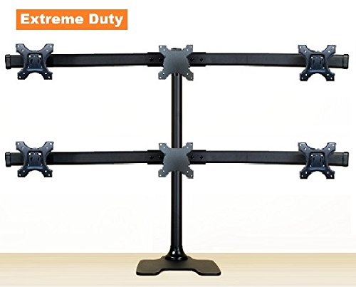 Deluxe 6-Monitor Stand (up to 6x 28' monitors)
