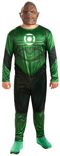 Rubie's Costume Co Men's Plus-Size Green Lantern Movie Kilowog Plus Size Costume, Green, 1X (Green Lantern Costume For Men)
