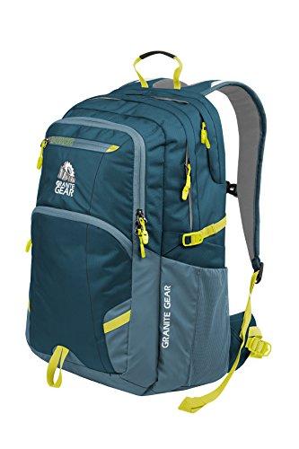 Granite Gear Sawtooth Backpack, Basalt/Bleumine/Neolime