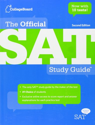Pdf Test Preparation The Official SAT Study Guide