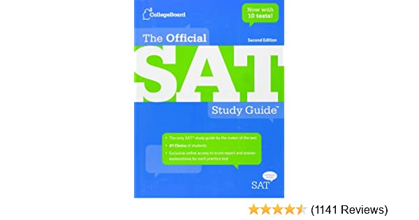 The official sat study guide second edition the college board the official sat study guide second edition the college board 8601404221675 amazon books fandeluxe Choice Image