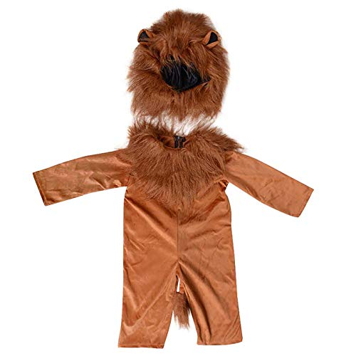 Kids Lion King Costume Animals Party DIY Halloween Simbalion Cosplay Child Fancy Dress Suit Lion, S
