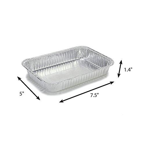 Grill Care 16415 Foil Drip Pans Compatible with Weber Q, Spi