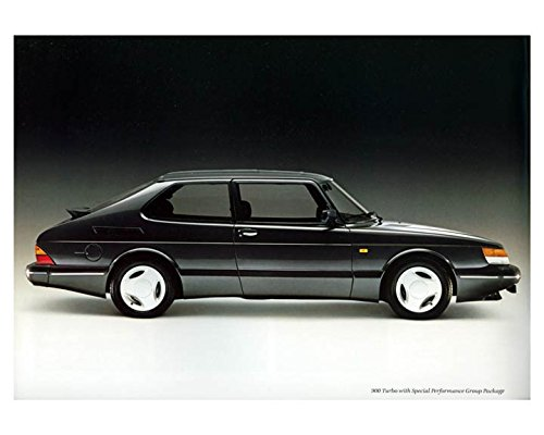 1988 Saab 900 Turbo Automobile Photo Poster from AutoLit
