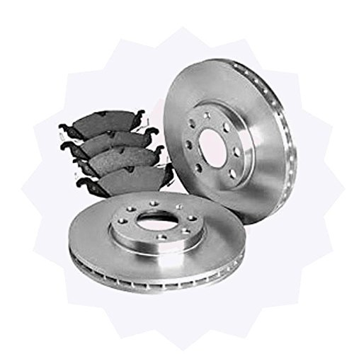 Online Automotive DISC1720 Premium Pair of Front Vented Brake Discs:
