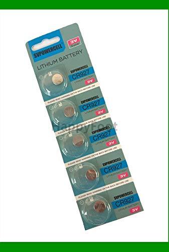 Generic 5 X Cr927 Br927 927 3V Lithium Batteries