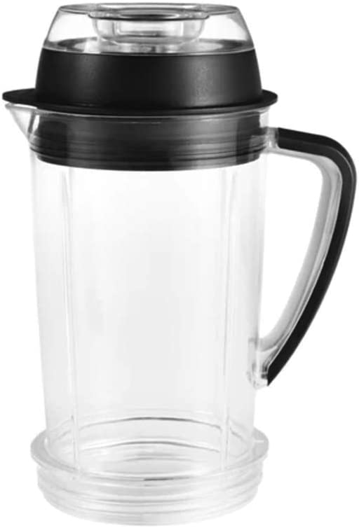 NutriBullet RX SouperBlast Pitcher with 2-Piece Lid, One liter, Clear/Black