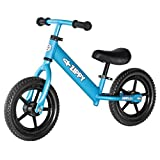 "ZIPPY LITE Running Balance Bike Training Beginners - Lightweight, 11"" Wheels, No-Pedals, Aluminum Bicycle for Toddlers & Kids Ages 1.5 to 5 Years - Blue"