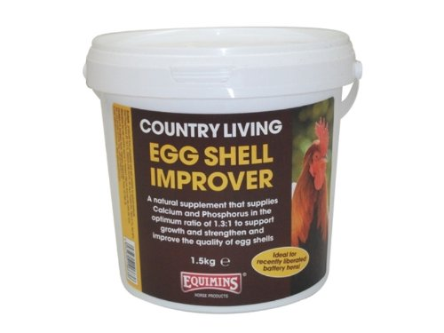 Equimins - Country Living Poultry Egg Shell Improver x 1.5 Kg Smiths Health Ltd
