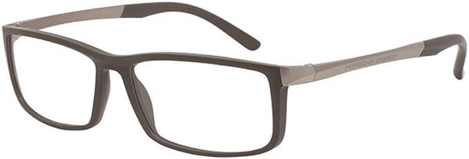 Authentic Porsche Design P 8259 F Grey Brown Eyeglasses
