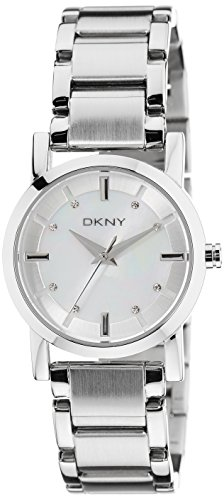DKNY NY4519 mother of pearl dial stainless steel bracelet women watch NEW (Band Dkny Bracelet)