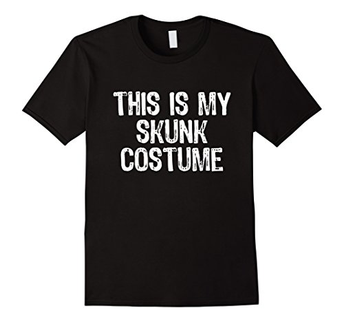 Mens This Is My Skunk Costume Halloween T-Shirt Small (Mens Skunk Costume)