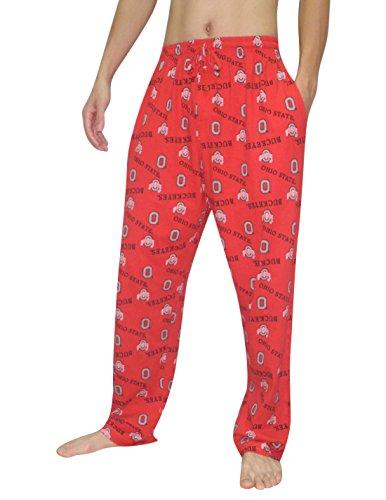 NCAA Ohio State Buckeyes MENS Cotton Sleepwear / Pajama Pants 2XL Multicolor (Ohio State Pajama)