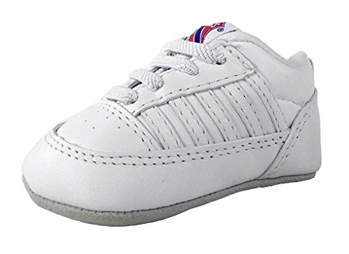 K-swiss Baby Crib Shoes 5 Stripe White 2611197 (3) K-swiss Accessories