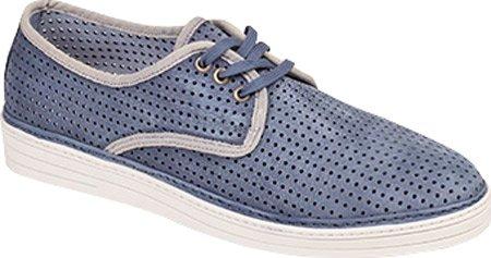 Bacco Bucci Mens Tola Mode Sneaker Blå
